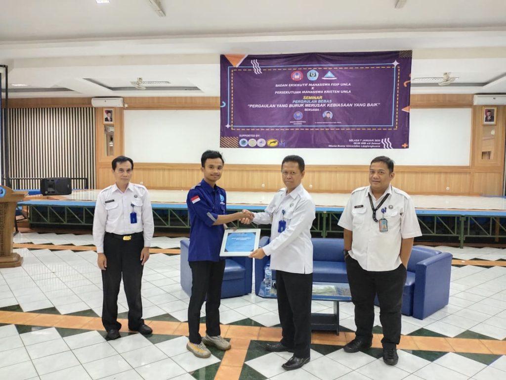 Seminar Mahasiswa Univ. Langlangbuana bersama BNN Kota Bandung