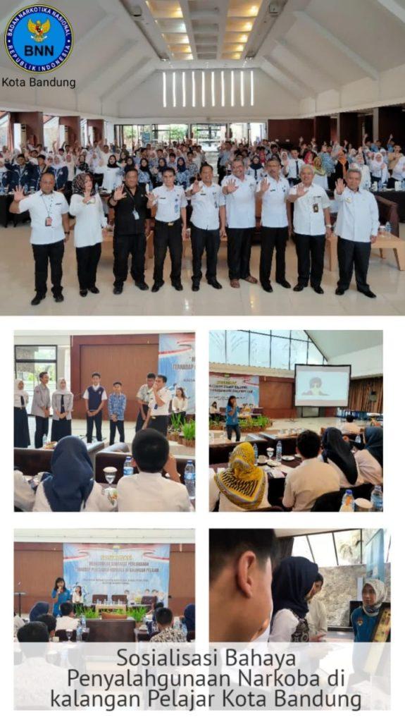 BNN dan Kesbangpol beri semangat melawan narkoba kepada pelajar kota Bandung