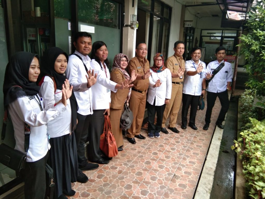 Asistensi dan Supervisi Pemetaan Kegiatan Pascarehabilitasi kepada kecamatan Kiaracondong Bandung