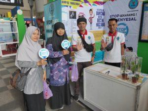Kesempatan Bagus! Untuk Lebih dekat dengan Masyarakat BNN Kota Bandung ikuti Pameran Inavest 2019