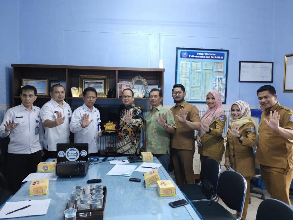 Jalin Kerjasama, DPRD Tangerang Selatan Kunjungi BNN Kota Bandung