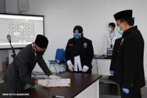Pelantikan/Pengambilan Sumpah Jabatan Kepala BNN Kota Bandung