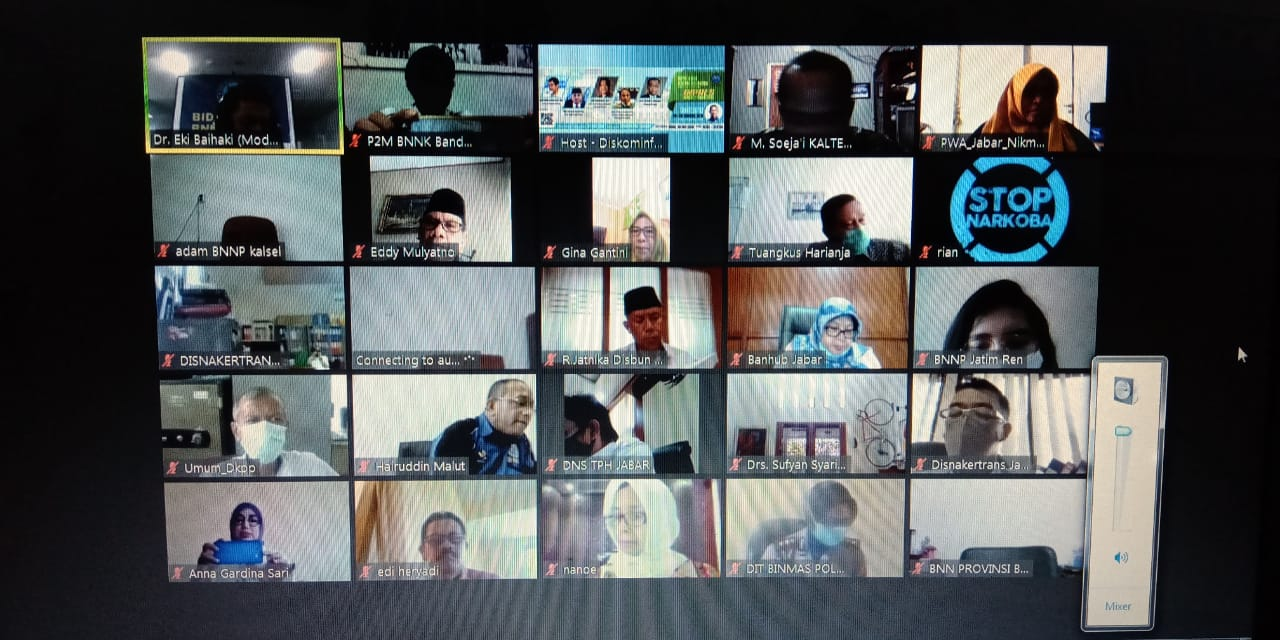BNN Kota Bandung Lakukan Pendekatan kepada Keluarga untuk Cegah Narkoba
