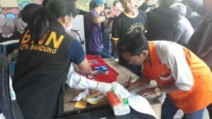 Jelang Lebaran, Sopir Bus terminal Cicaheum Bandung Jalani Pemeriksaan