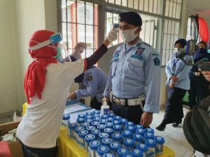 Tes Urin di Rutan Perempuan Kelas IIA Bandung