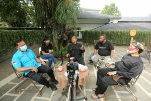 Podcast P4GN bareng Tokoh terkenal Bandung