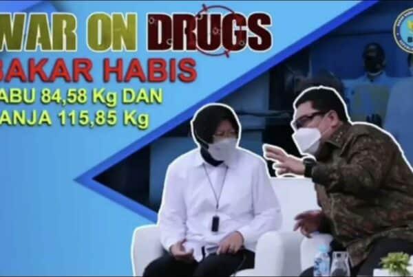 Konsisten, BNN bakar habis Narkoba!