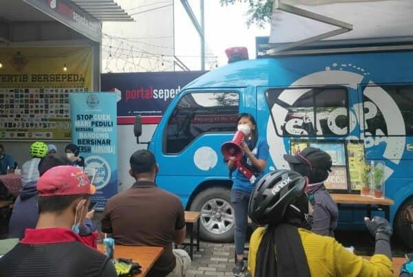 BNN Kota Bandung bersama Dinas Perhubungan Kota Bandung hadirkan P4GN dalam acara Fun Bike