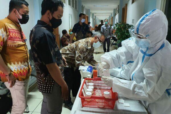 Tes Urin Pegawai di lingkungan Kantor Pelayanan Pajak Madya Bandung
