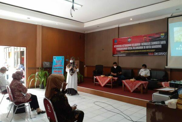 Peringati HANI 2021, Tim Terpadu P4GNPN Kota Bandung Sosialisasi Intervensi Ketahanan Keluarga