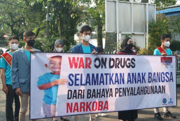 Pelajar dan Mahasiswa serukan perang terhadap Narkoba